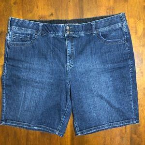 Lane Bryant Denim Bermuda Shorts